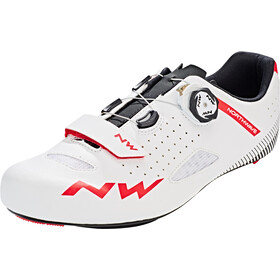 Northwave Core Plus Scarpe Uomo, white/red